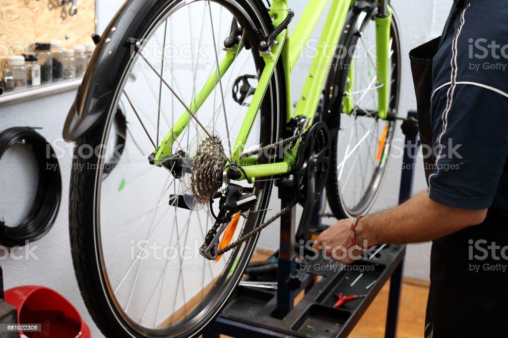 Bicycle workshop – zdjęcie