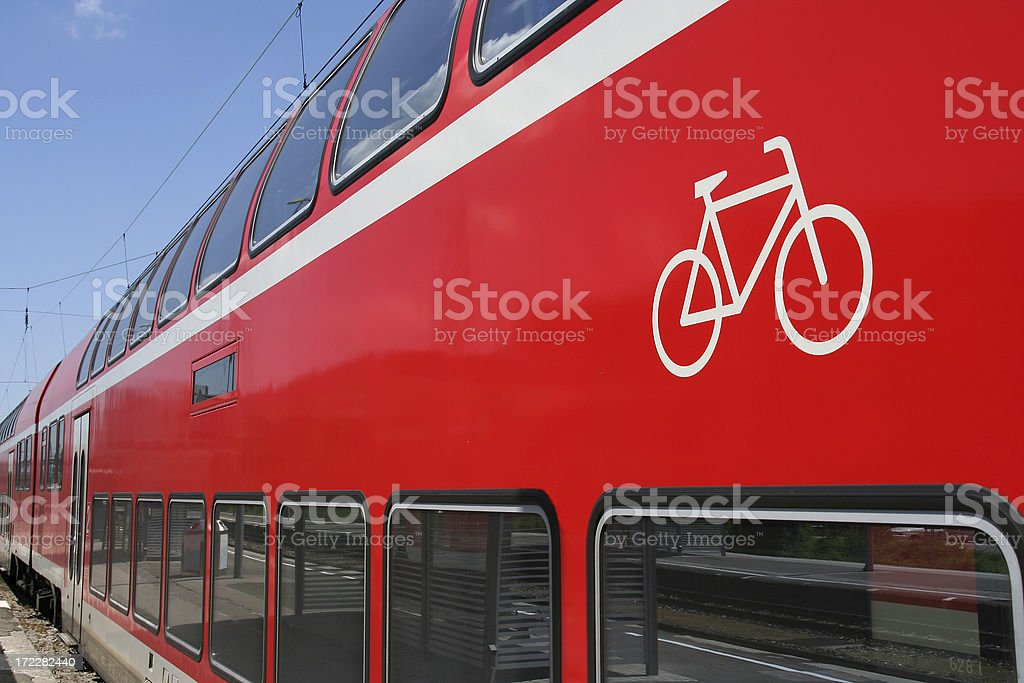Bicycles allowed royalty-free stock photo