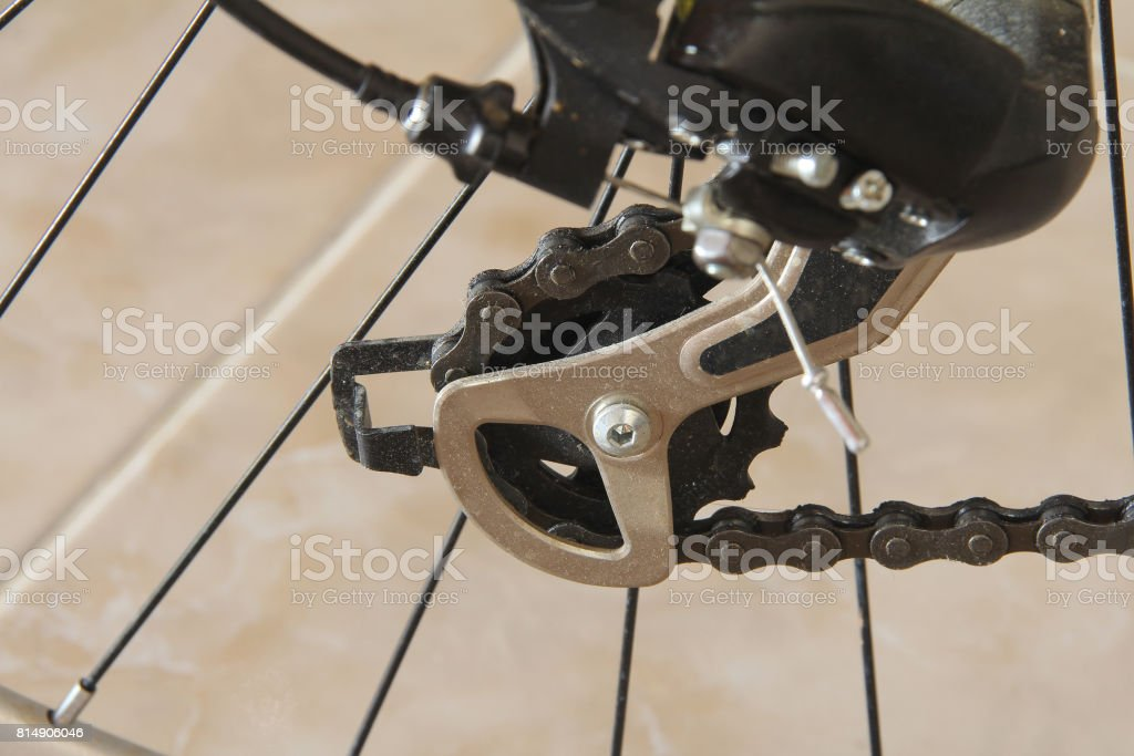 Bicycles Rear Drive System stock photo