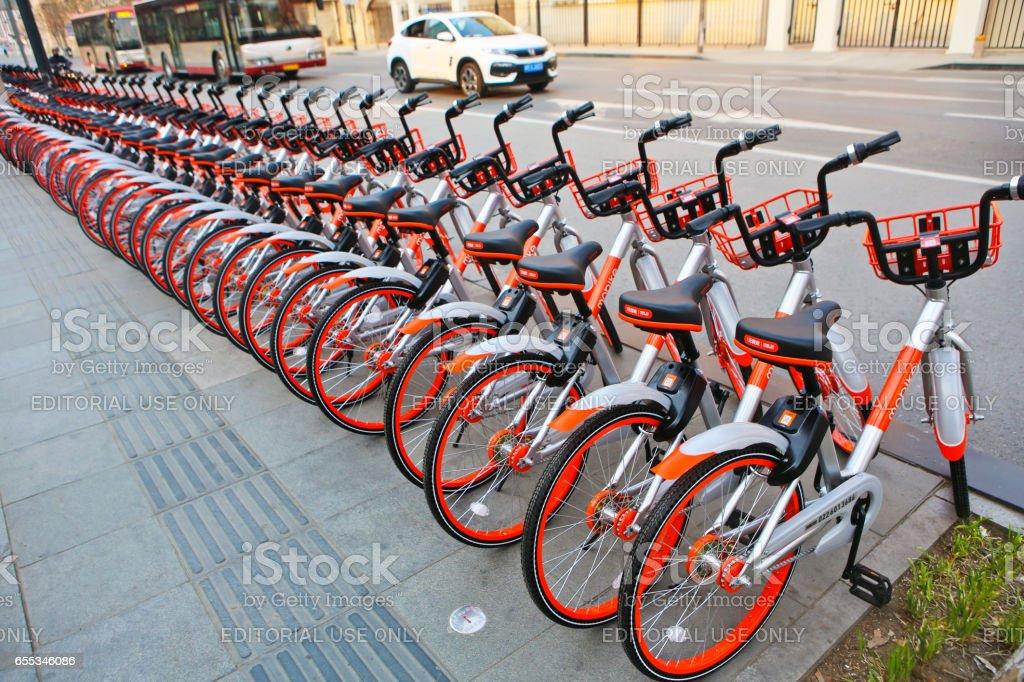 Vélo-partage en Chine - Photo