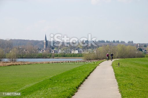 969439086 istock photo Bicycling along the IJssel river 1149272544