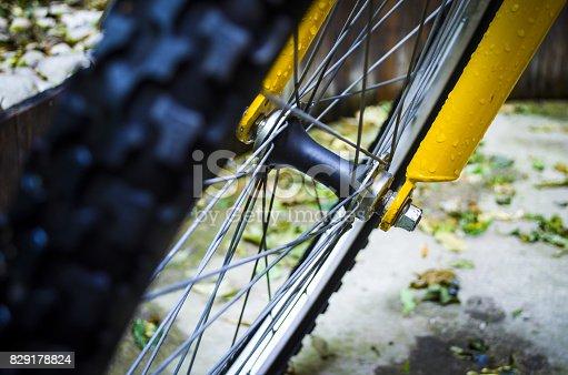 istock Bicyclist 829178824