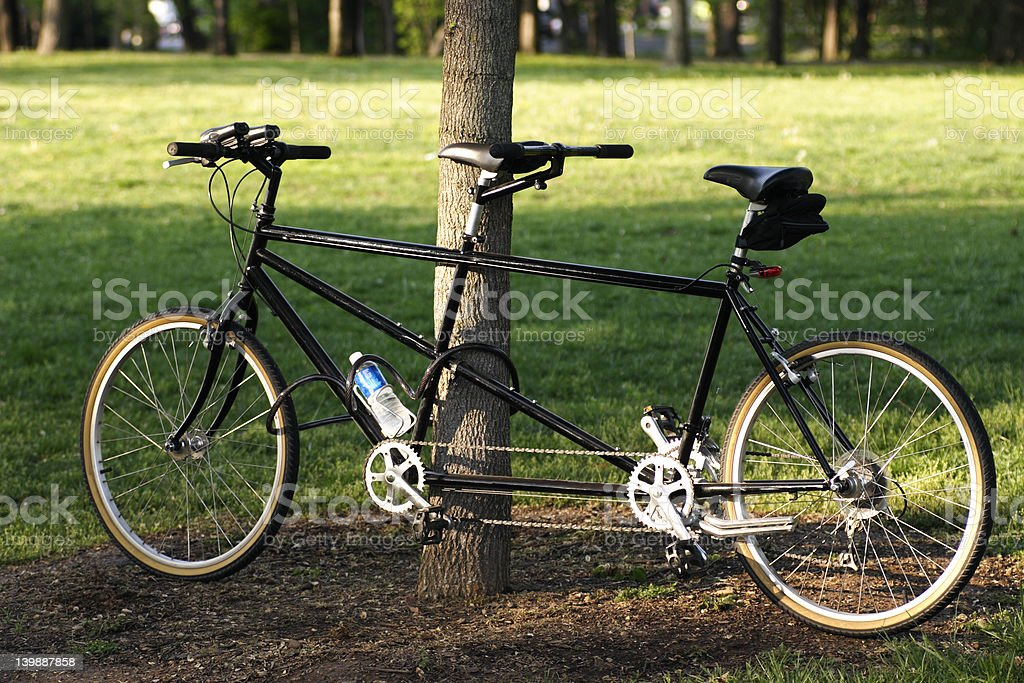 bicyle built for two royalty-free stock photo