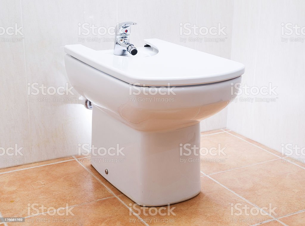 Bidet royalty-free stock photo