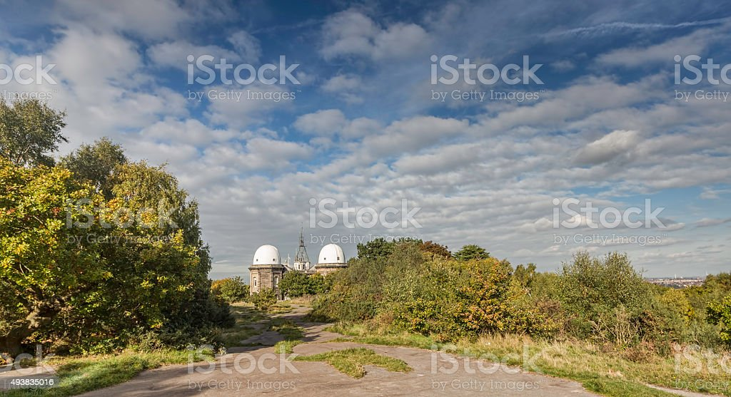 Bidston Observatory bidston hill wirral uk. stock photo