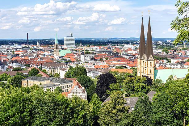 Bielefeld die Skyline – Foto