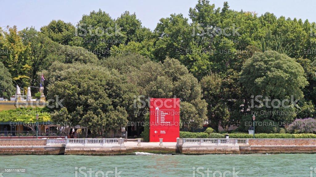 Bienal Veneza - foto de acervo