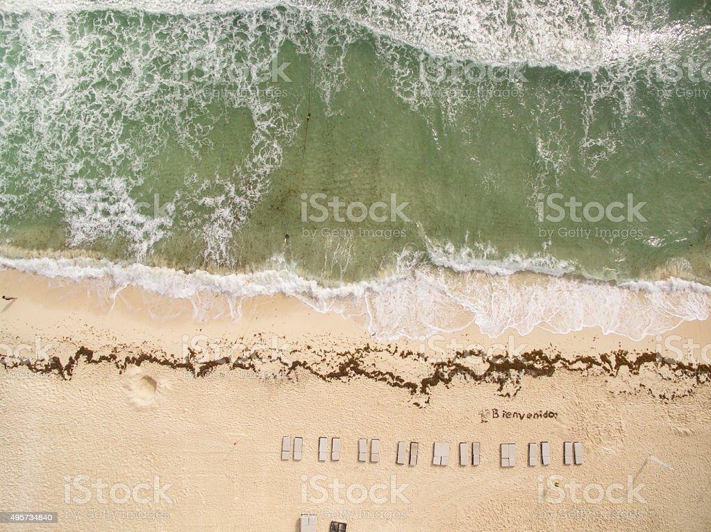Bienvedino Aerial stock photo