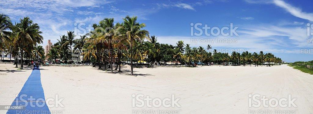 Bienvenido A Miami stock photo