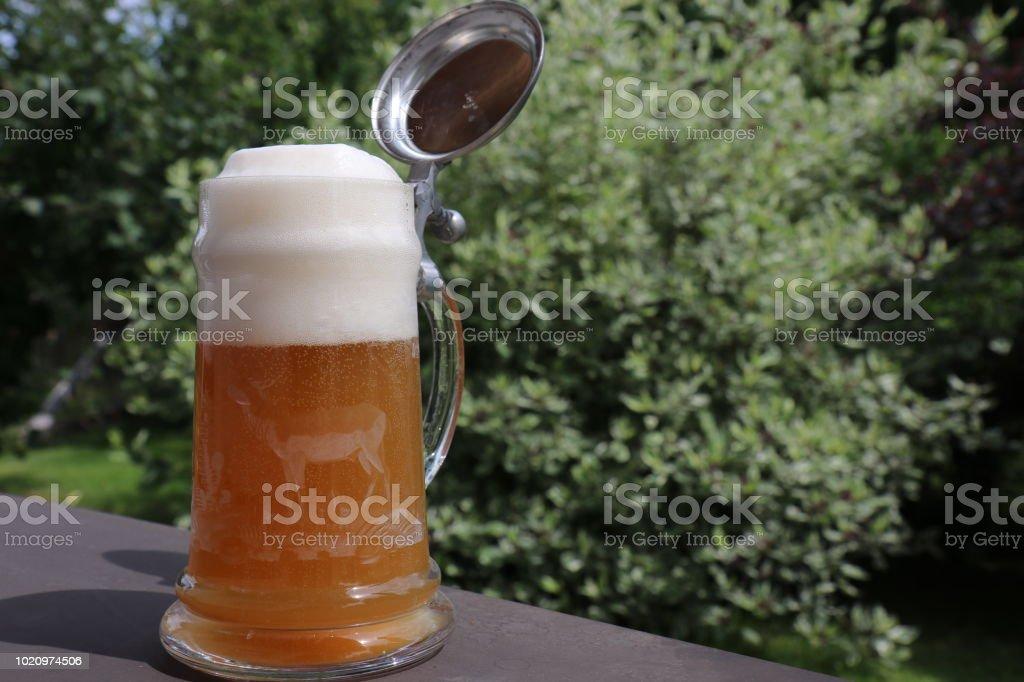 Bierkrug stock photo