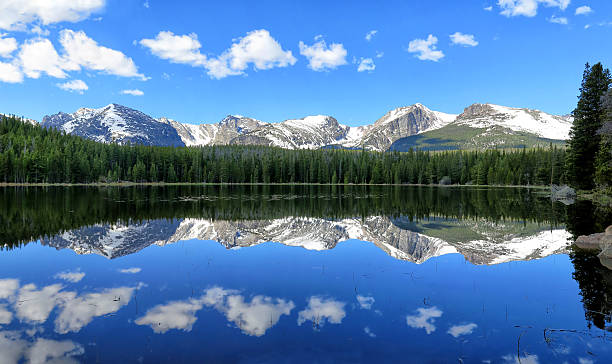Bierstadt Lake Reflection - Photo