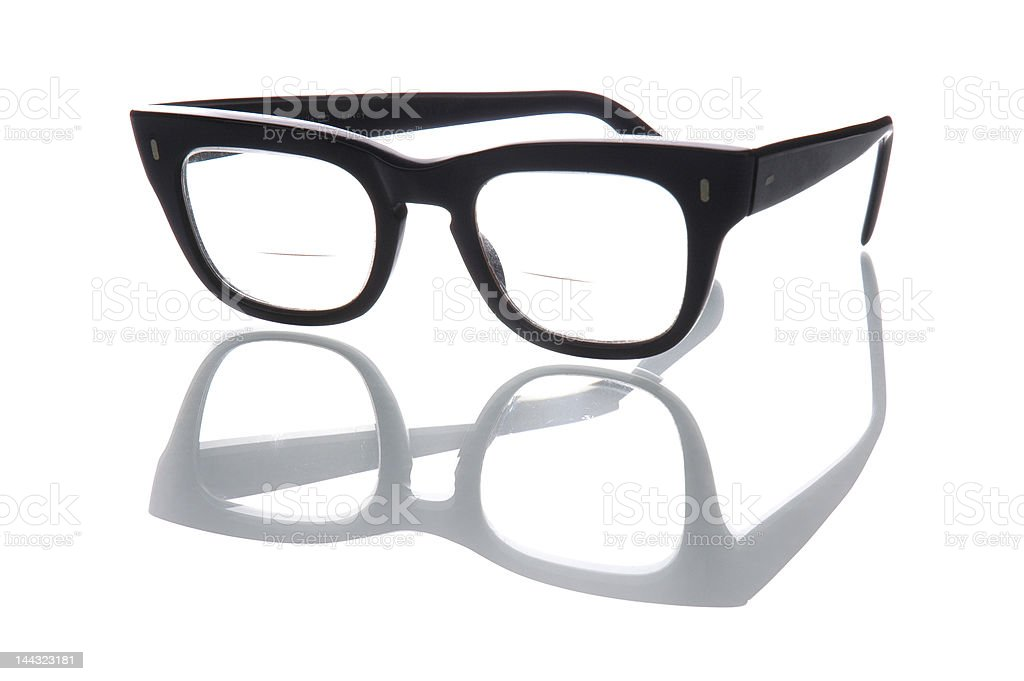 Bifocals stock photo