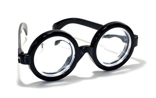 Bifocals stock photo