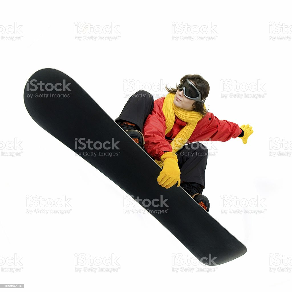 Big Air royalty-free stock photo