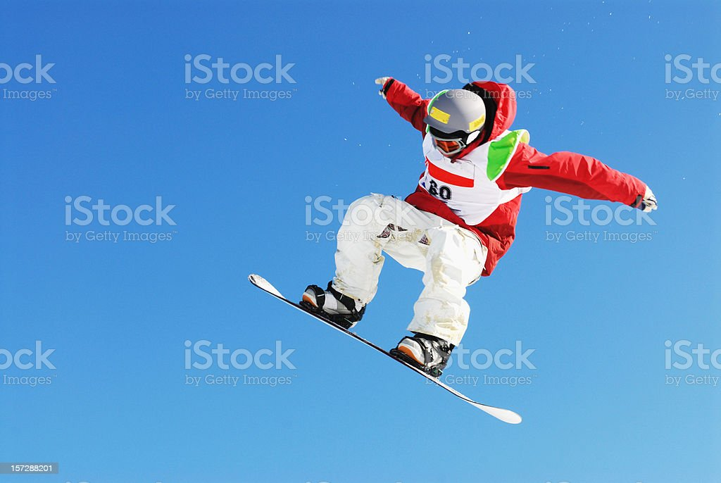 Big Air stock photo