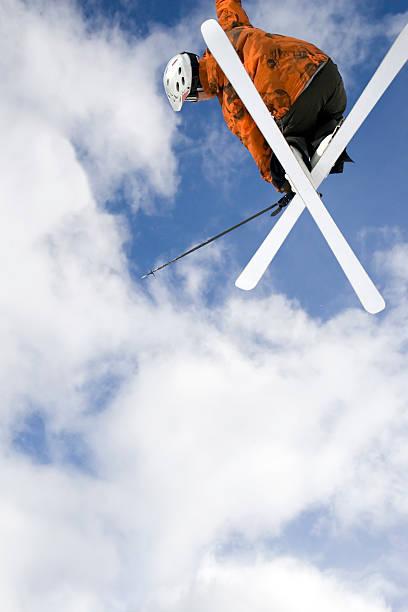 Big Air Skier2 stock photo