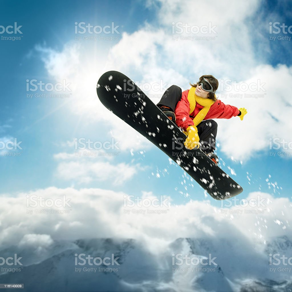Big Air XXL stock photo