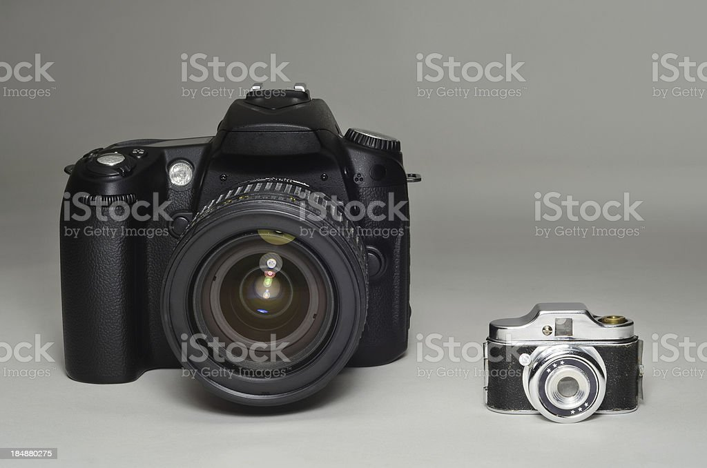 Big and Small stock photo