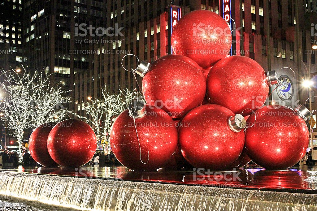 New York, NY, USA - December 26, 2011 - One of the most photographed...