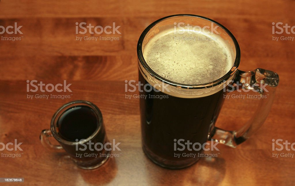 Big Bad Beer royalty-free stock photo