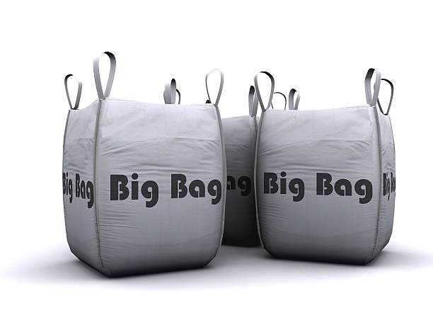 big bag stock photo