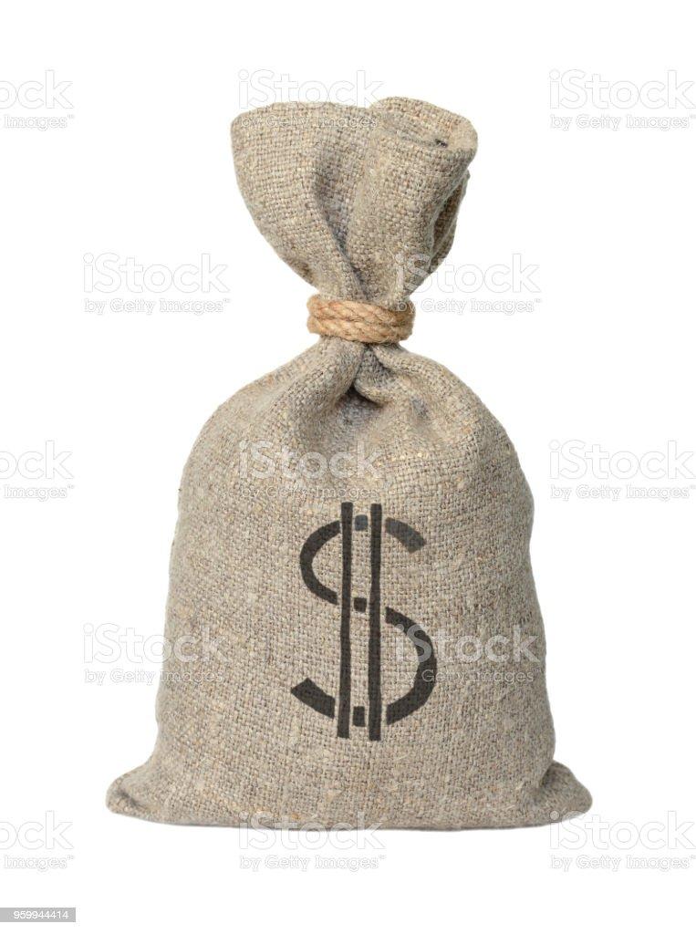 Big bag sacking stock photo