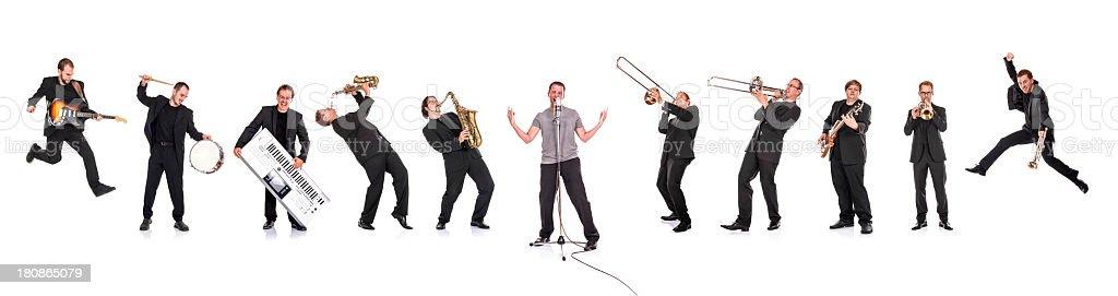 Big Band Porträt – Foto