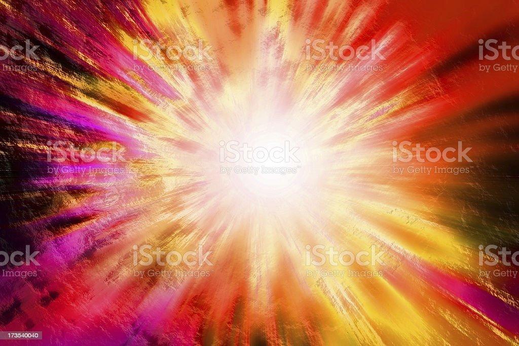 Big Bang royalty-free stock photo