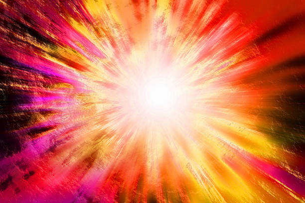 botta grande - big bang foto e immagini stock