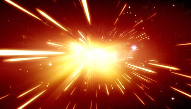 big bang teoria - big bang foto e immagini stock