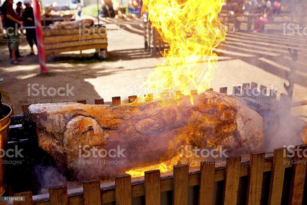 Big Barbecue stock photo