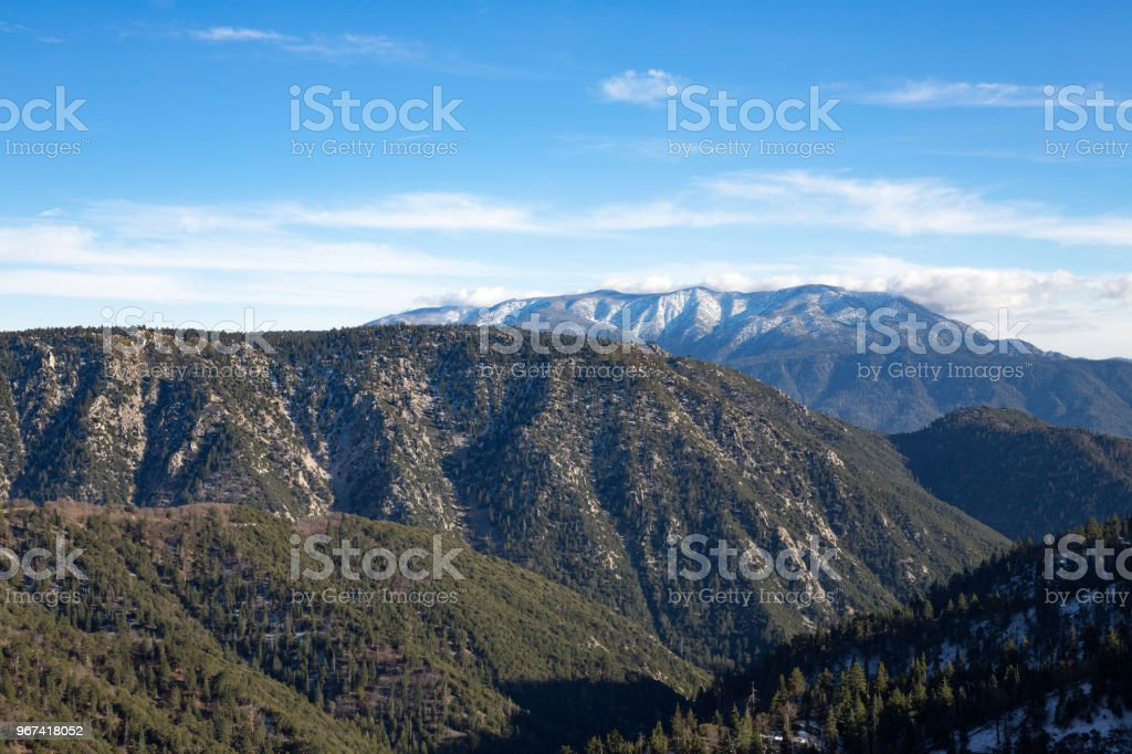 Big Bear Mountains stock photo