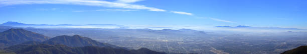 Big Bear A panoramic view of big bear and San Bernardino county from Arrowhead redlands california stock pictures, royalty-free photos & images