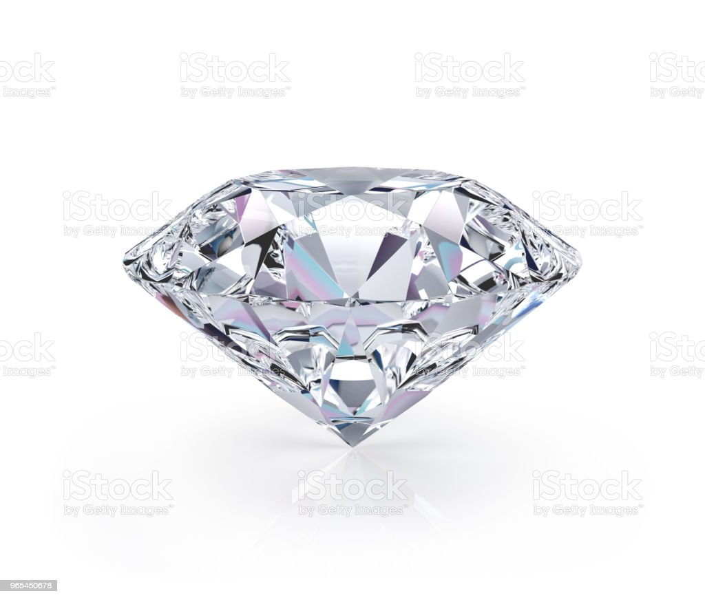Big beautiful diamond royalty-free stock photo
