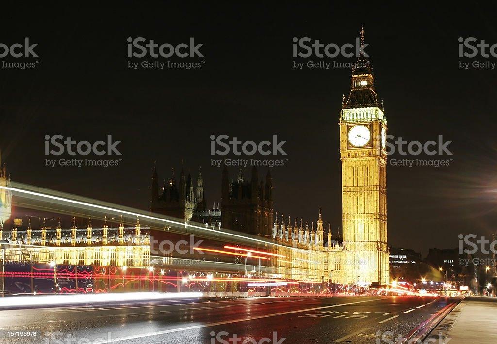 Big Ben and British Parliament royalty-free stock photo