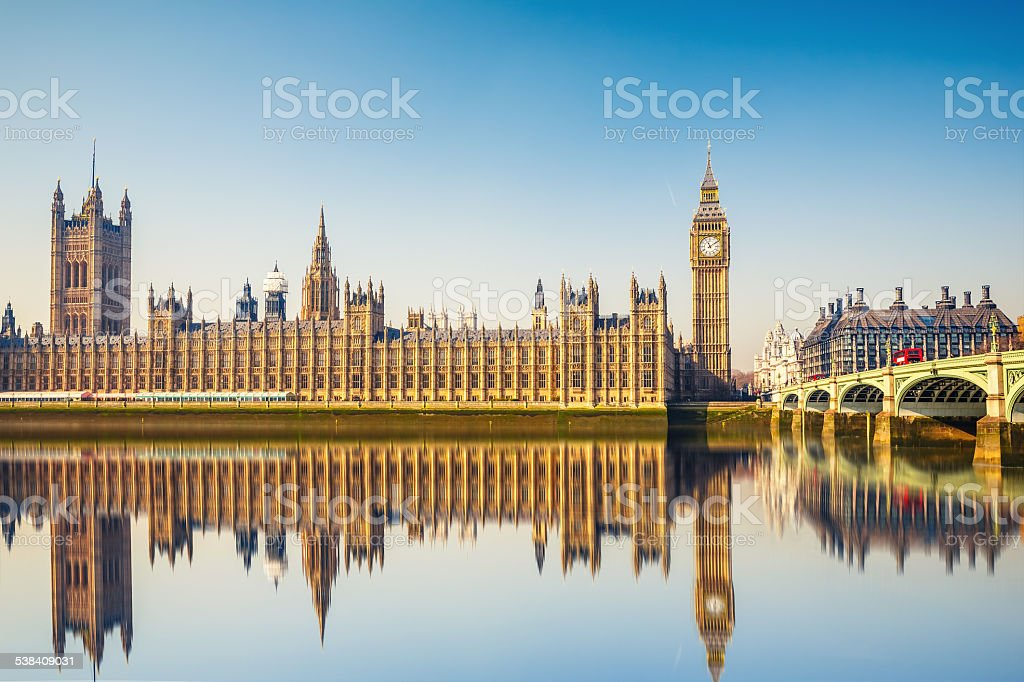 Big Ben and Houses of parliament, London - Royalty-free 2015 Stock Photo