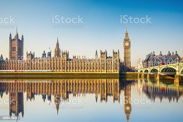 Big Ben And Houses Of Parliament London Stock Photo - Download Image Now