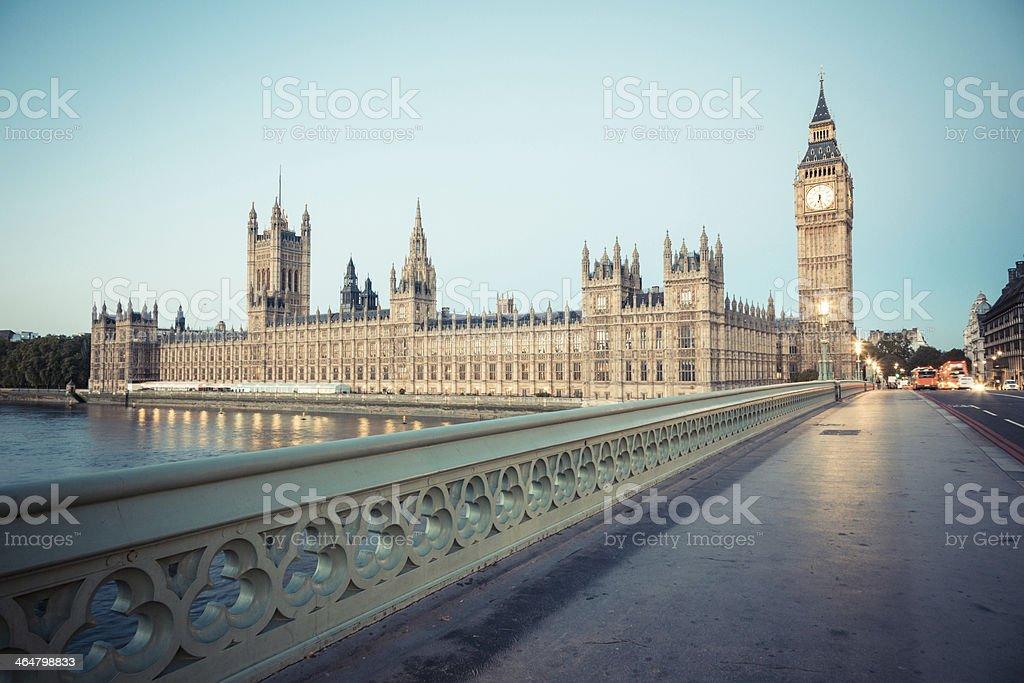 Big Ben, Parlement à l'aube - Photo