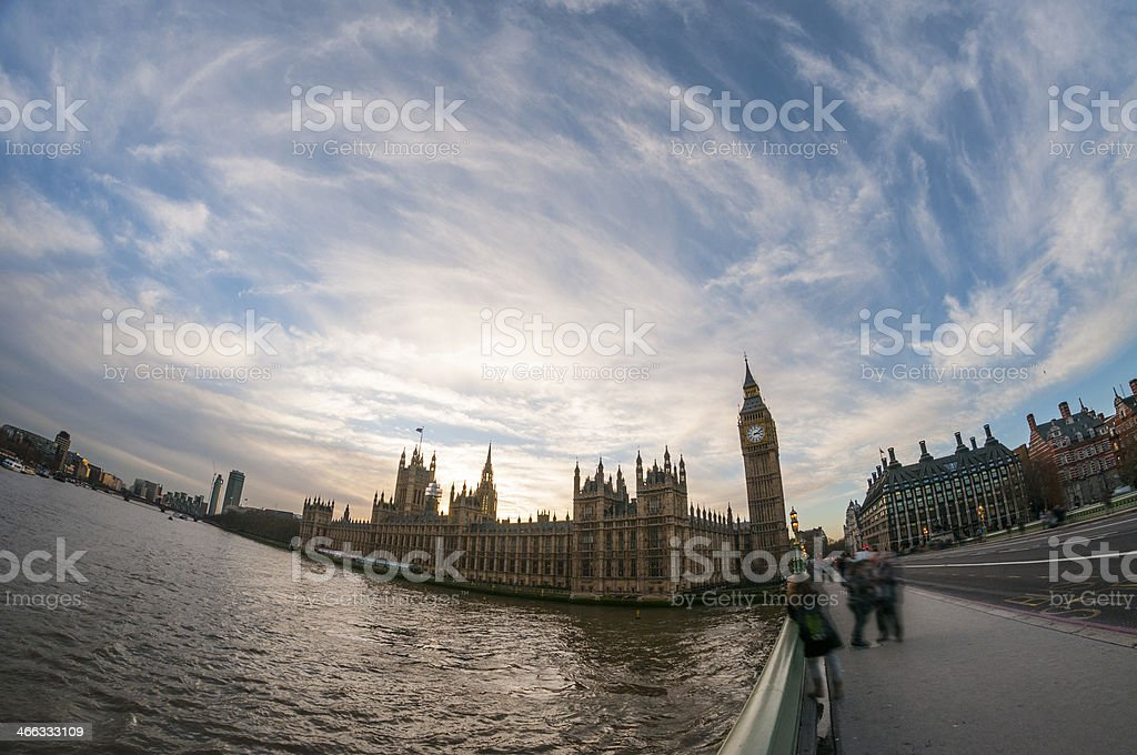 Big Ben And The Houses Of Parliament In London, England royalty-free stock photo