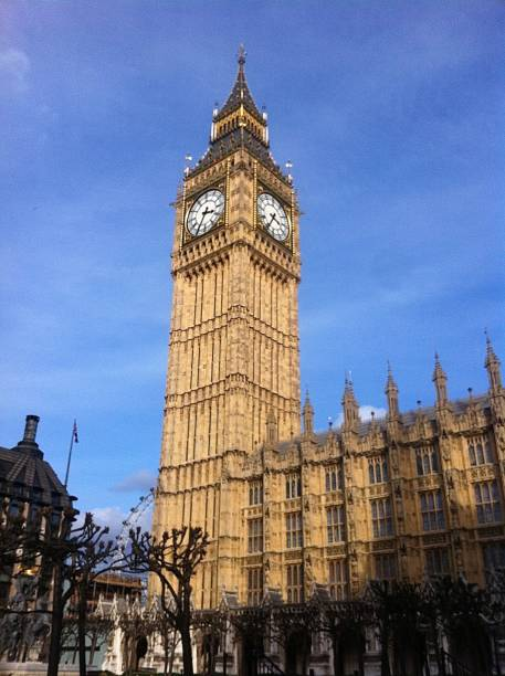 Big Ben and the Houses of Parliament. stock photo