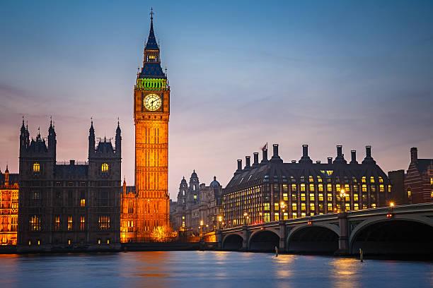 Big Ben et le pont de westminster, à Londres - Photo
