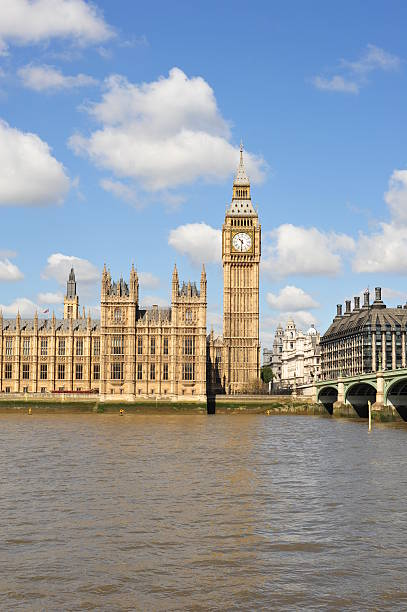 Big Ben and Westminster stock photo