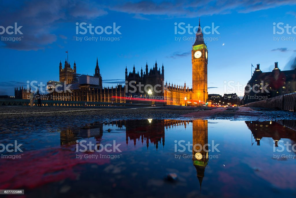 Big Ben At Dusk stock photo