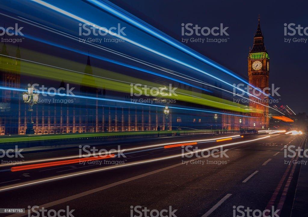 Big Ben at London England UK stock photo