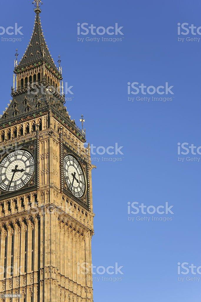 big ben clock tower london royalty-free stock photo