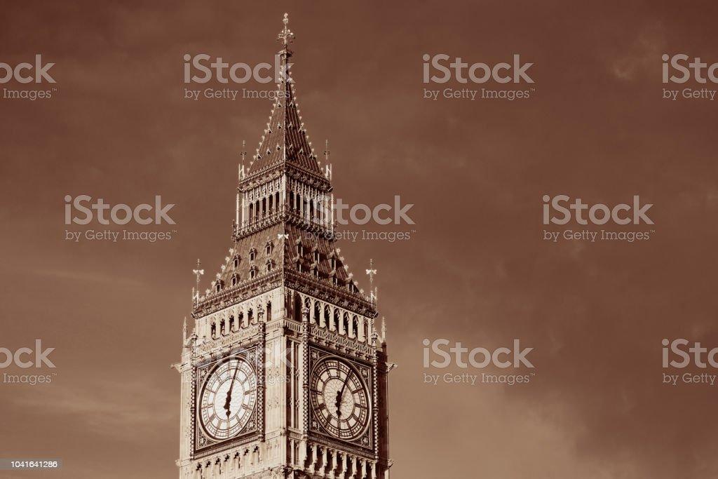 Big Ben closeup stock photo