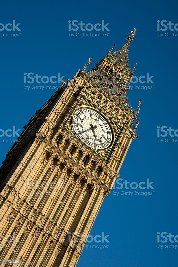 Big Ben detail royalty-free stock photo