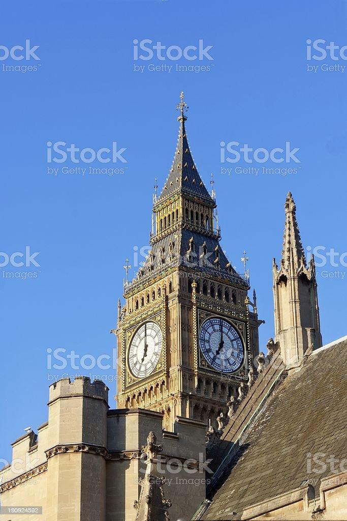 Big Ben, detail royalty-free stock photo
