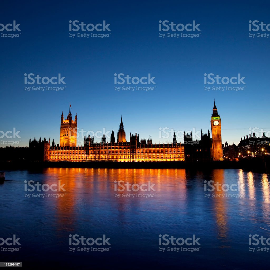 Big Ben Dusk royalty-free stock photo