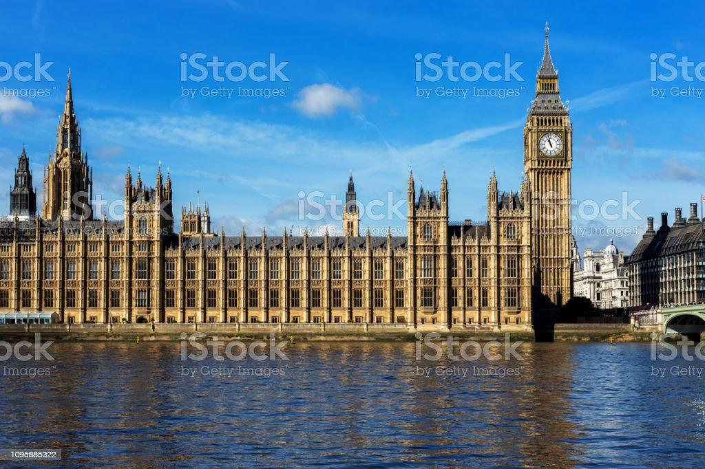 Big Ben - Houses of Parliament stock photo
